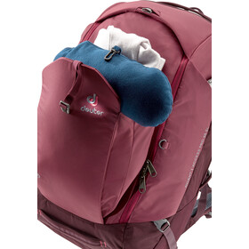 Deuter Aviant Access Pro 55 SL Mochila de Viaje Mujer, maron/aubergine